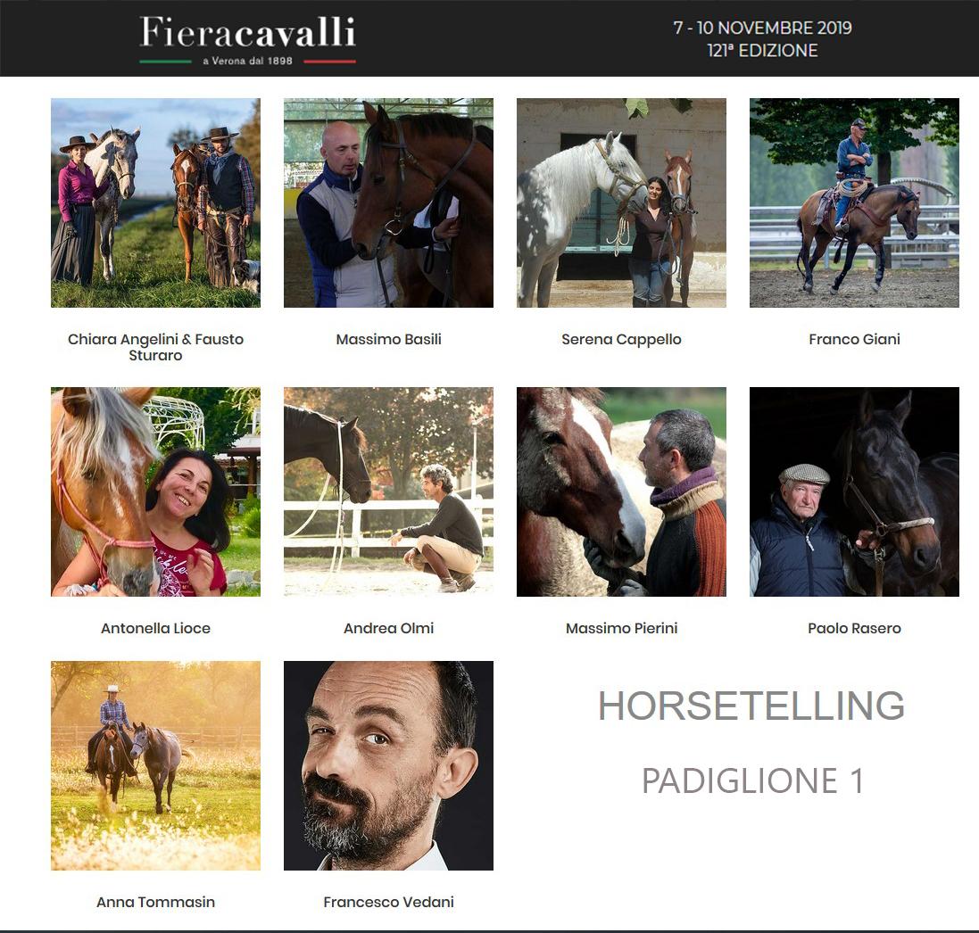 """Gli horsetellers di """"MI RACCONTO"""""""
