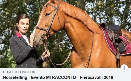 HorseTelling a Fieracavalli Verona