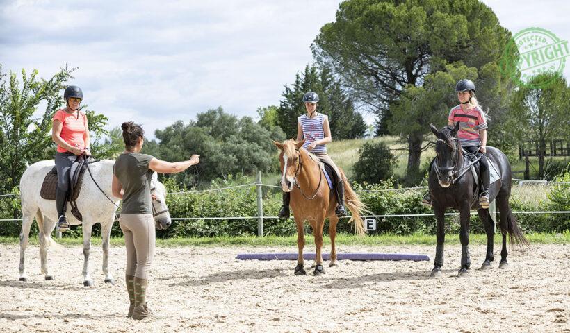 istruttore di equitazione