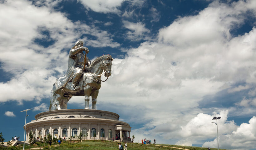 statua equestre di Gengis Khan